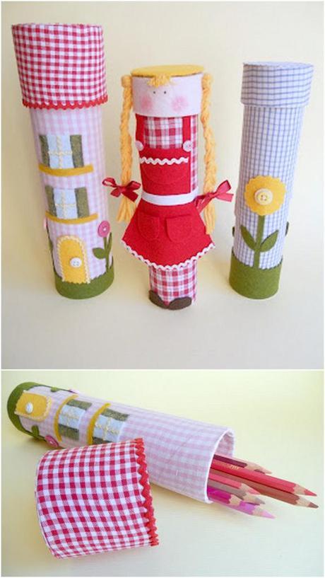 Dolci alzatina creativo : ... porta penne riciclo creativo collage lavoretto cata pesta alzatina diy