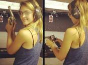 splendida Jessica Alba allena nelle foto preparazione City
