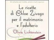 ricette Chloe Zivago matrimonio l'adulterio