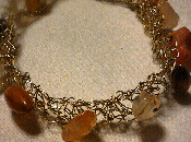 Uncinetto filo metallico Wire crochet