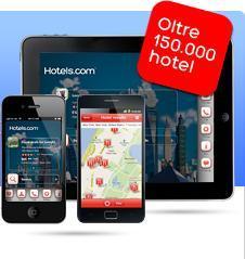 Hotels: 10% di sconto e App gratuita