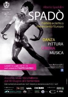 Spadò - L'artista eclettico che incantò l'Europ, mostra su Alberto Spadolini - Mole Vanvitelliana di Ancona, Milano arte Expo