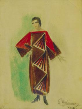 Sonia Delaunay. Reflecting Fashion at Mumok part two.