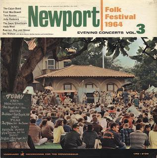 THE NEWPORT FOLK FESTIVAL (July 23-26) - EVENING CONCERTS vol. 3 [1964]