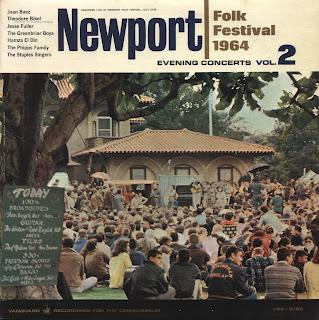 THE NEWPORT FOLK FESTIVAL (July 23-26) - EVENING CONCERTS vol. 2 [1964]