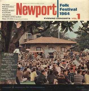 THE NEWPORT FOLK FESTIVAL (July 23-26) - EVENING CONCERTS vol. 1 [1964]