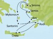 """Diario viaggio, crociera """"Sette spiagge sette giorni"""", Costa Atlantica, Crociere (I). Imbarco primo scalo Kos."""