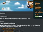 L'applicazione GIMP finalmente disponibile