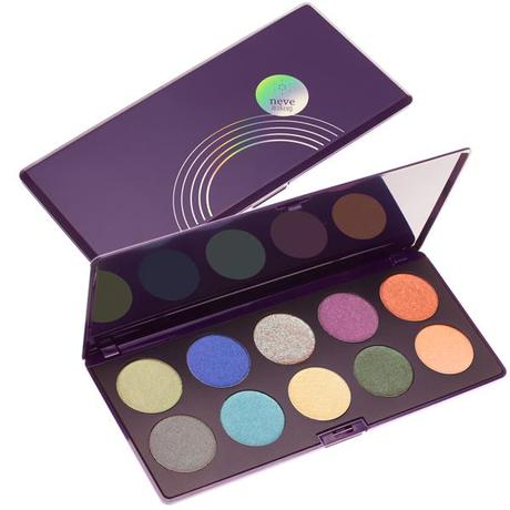Preview Neve Cosmetics - DUOCHROME revolutionary eyeshadow palette