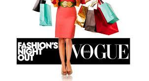 VoGue Fashion Night Out is in the AiR!!!