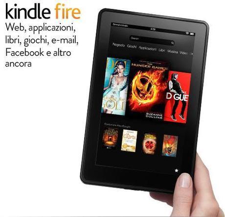 Amazon lancia il Kindle Fire