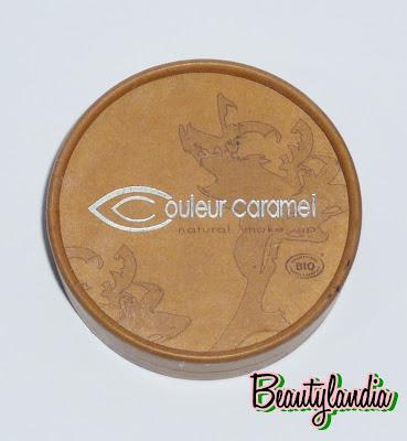 couleur caramel natural make up una linea di make up ricca e completamente bio paperblog. Black Bedroom Furniture Sets. Home Design Ideas