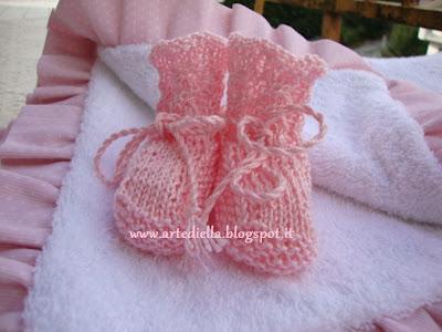 Scarpette ai ferri per neonato
