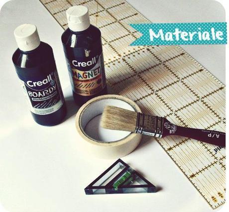 Home decor lavagna magnetica dipinta paperblog for Livella a bolla leroy merlin