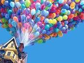 L'avventura vita, casa volante miriade palloncini colorati