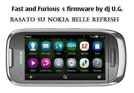 CFW Nokia C7: Fast and Furious 4 [basato su Belle Refresh]