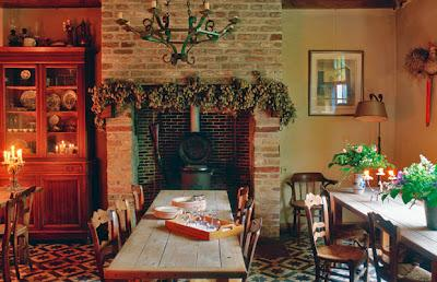 Stile country per una casa di campagna nelle fiandre for Disegni di log casa stile ranch