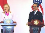 """Hillary Clinton Asia: """"L'oceano abbastanza grande tutti"""""""