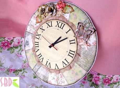 orologio shabby chic shabby chic clock paperblog
