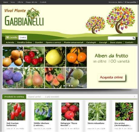nuovo sito vivai piante gabbianelli paperblog