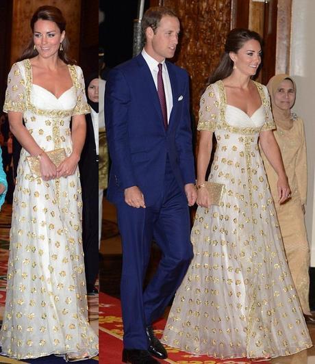 Fashion Icon Kate Middleton Glamour In Alexander Mcqueen