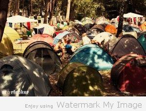 Il campeggio del Sziget 2012. Foto Starfooker http://www.starfooker.com