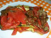 Ricette vegan light: sformato verdure estive