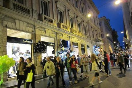 VFNO – Vogue Fahion's Night Out Roma 2012