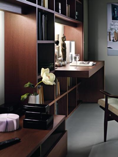 soggiorno angolo studio ~ idee per il design della casa - Idee Angolo Studio In Soggiorno 2