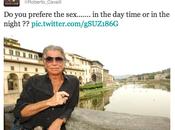 Roberto Cavalli Criticises Armani Dolce