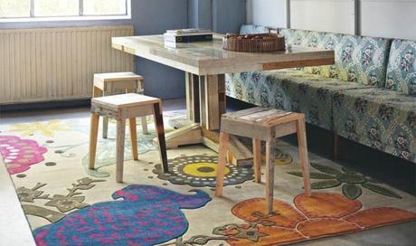 Tappeti e design arredare la casa con stile paperblog for Arredare con i tappeti