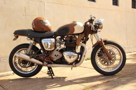 Triumph Bonneville 'Rust Bucket'