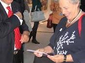 Leonardo Domenici, Rita Borsellino Luigi Berlinguer all'inaugurazione Carli Bruxelles