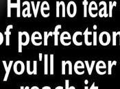 Nella scrittura esiste perfezione