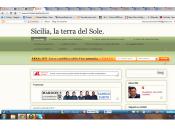 "blog ""Sicilia, terra Sole"" nuovamente online."