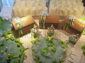 Matrimonio Verde Mela dalla partecipazione cadeau