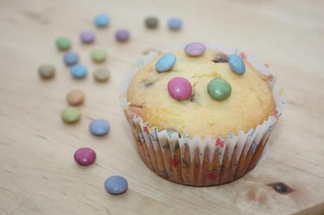 Allegri muffin con gli Smarties