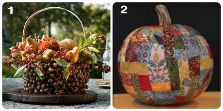 Centrotavola per decorare la tavola in autunno paperblog - Centrotavola autunnale ...