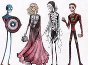 Avengers stile Burton
