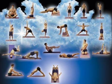 i cinque tibetani yoga