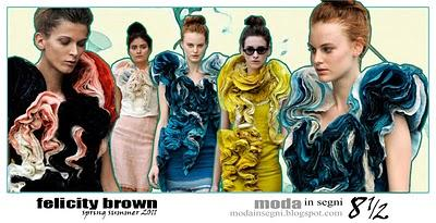 Le pagelle: FELICITY BROWN SPRING SUMMER 2011
