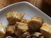 Spezzatino pollo sidro purè patate mele