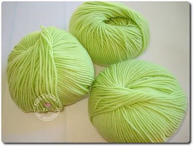Tinture in punta di lana