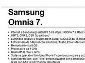 Samsung Omnia disponbile Italia