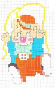 Orsetto Clown Che Potete Utilizzate Per Realizzate Il Decoro Per