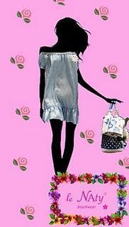 Le Naty glamour beachwear.