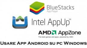 AMD AppZone, Intel AppUp, BlueStacks - Logo