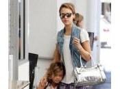 Jessica Alba piccola Honor: shopping Angeles