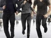 Bella, Edward Jacob fuga poster finale Twilight Saga: Breaking Dawn parte