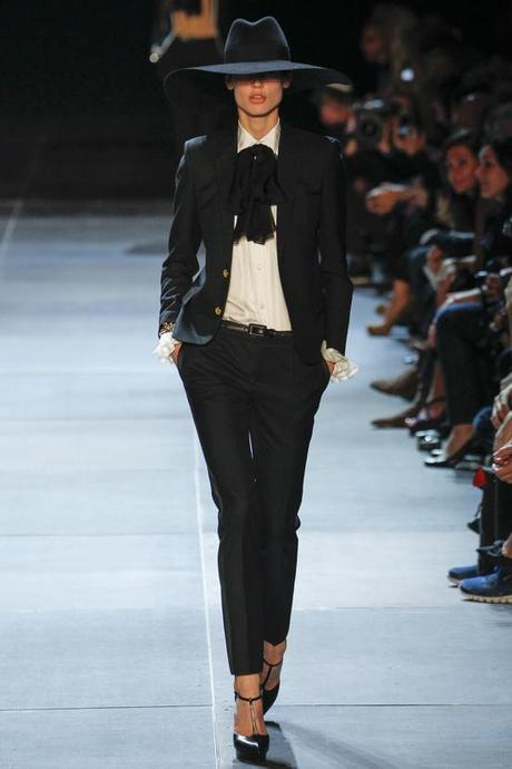 03.10.2012  HEDI SLIMANE ONLY KILLED THE Y